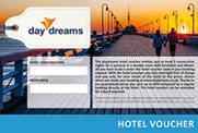 daydreams hotel voucher